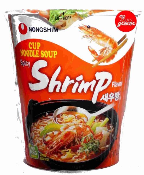 Nongshim Spicy Shrimp Cup Noodle Soup 67g
