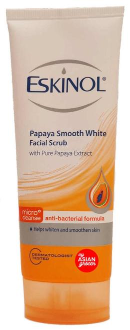 Eskinol Papaya Smooth White Facial Scrub with Pure Papaya Extract 100g