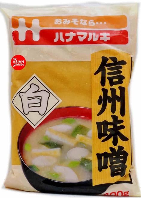 Hanamaruki Shinshu Shiro Miso Soy Bean Paste 400g