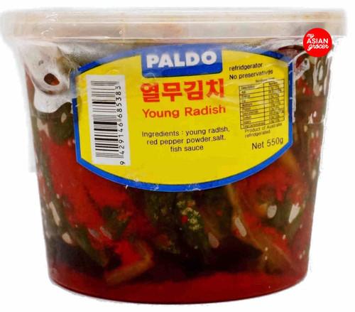 Paldo Young Radish Kimchi 550g