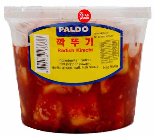 Paldo Radish Kimchi 550g