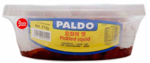 Paldo Pickled Squid Banchan 210g