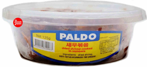 Paldo Dried Shrimp Cooked in Soy Sauce 125g