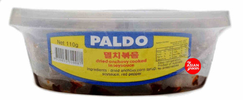 Paldo Dried Anchovy Cooked in Soy Sauce 110g