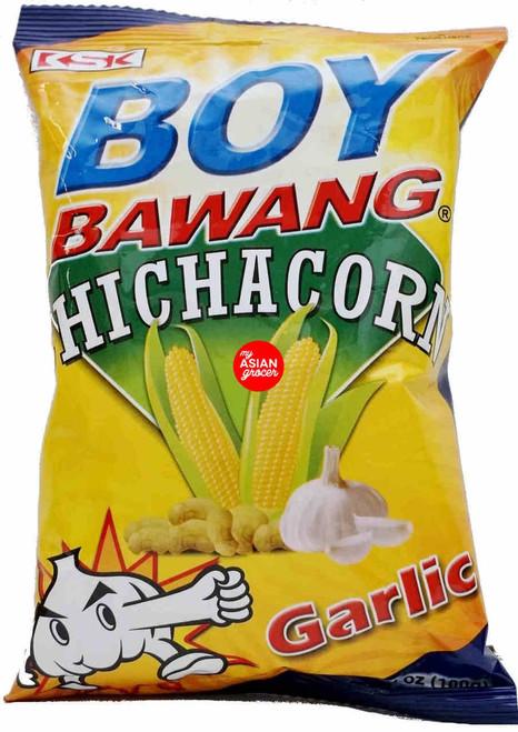 Boy Bawang Chichacorn Garlic 100g