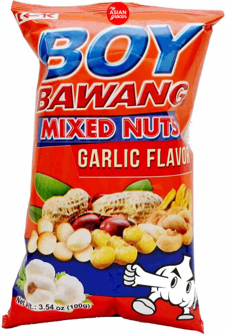 Boy Bawang Mixed Nuts Garlic Flavor 100g