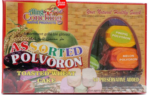 Aling Conching Assorted Polvoron Toasted Wheat Cake 500g