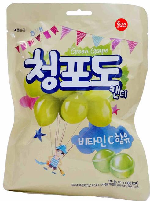 Haitai Green Grape Candy 90g