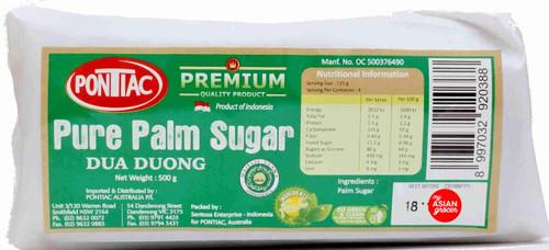 Pontiac Pure Palm Sugar 500g