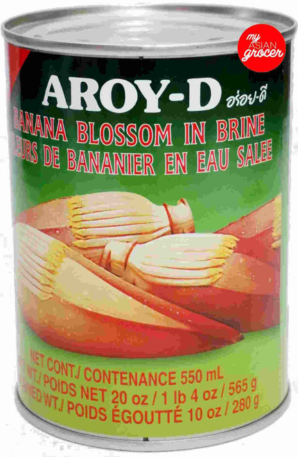 Aroy-D Banana Blossom in Brine 565g