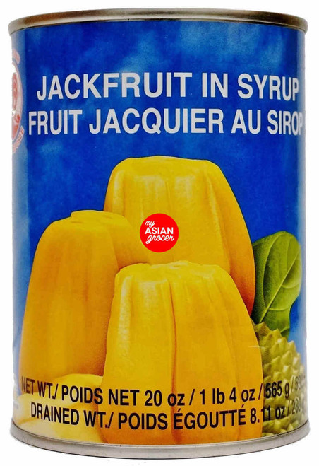 Cock Brand Jackfruit in Syrup 565g