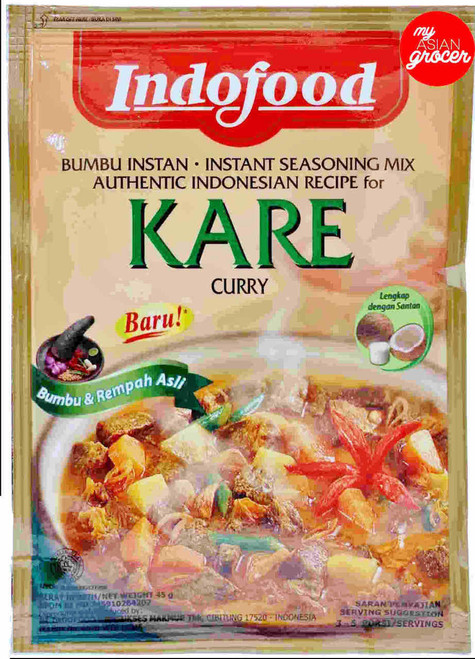 Indofood Kare Curry Instant Seasoning Mix 45g