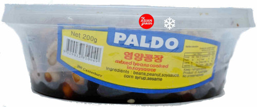 Paldo Mixed Beans Cooked in Soy Sauce 200g