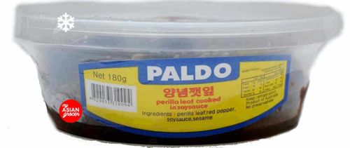 Paldo Perilla Leaf Cooked in Soy Sauce 180g