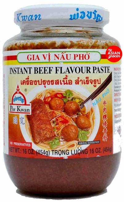 Por Kwan Instant Beef Flavour Paste 454g