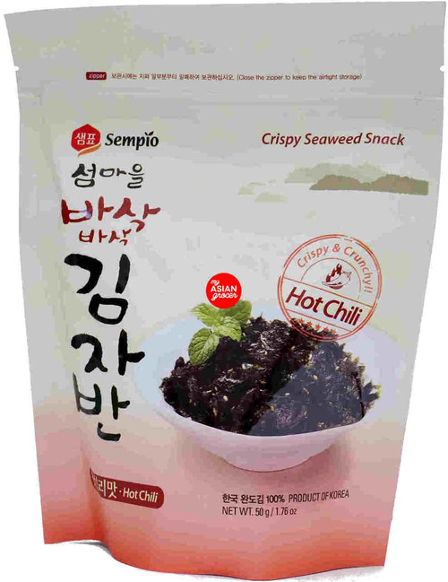 Sempio Crispy Seaweed Snack (Hot Chili) 50g