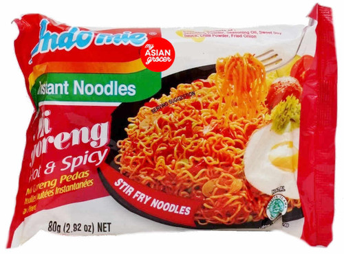 Indomie Mi Goreng Pedas Hot & Spicy 80g