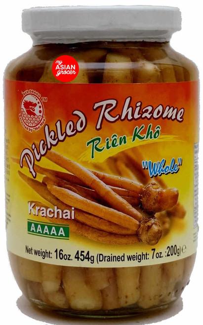 "Red Drago Pickled Rhizome Krachai ""Whole"" 454g"
