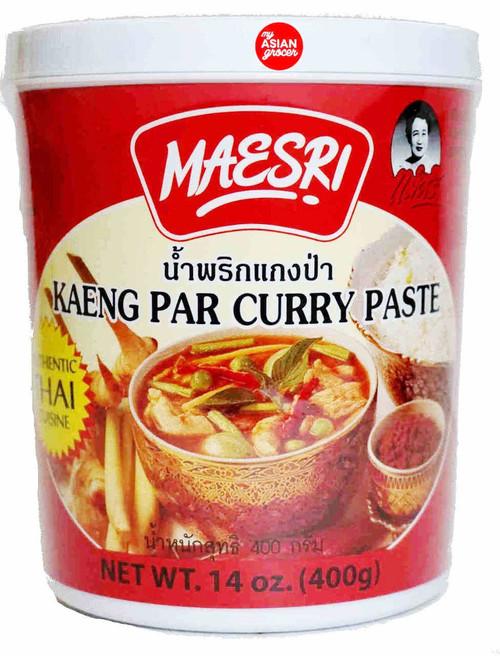 Maesri Kaeng Par Curry Paste 400g