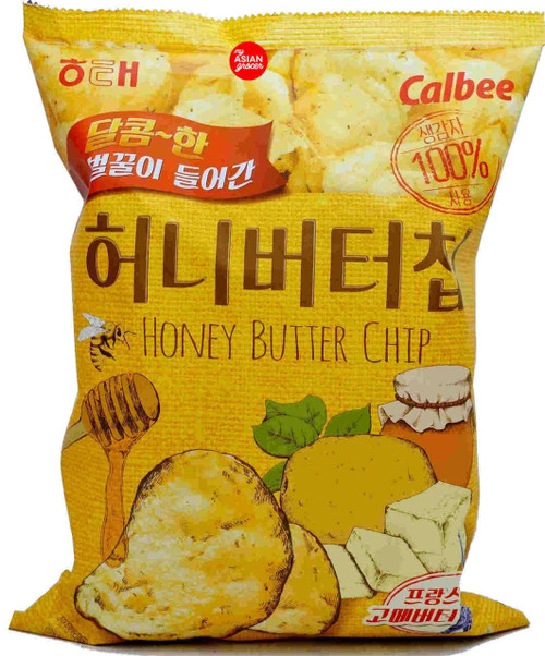 Haitai Calbee Honey Butter Chip 120g