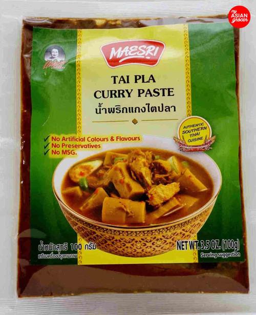 Maesri Tai Pla Curry Paste 100g