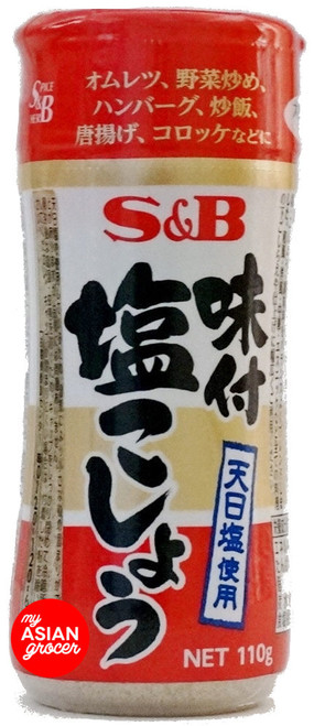 S&B Seasoned Salt & Pepper 110g