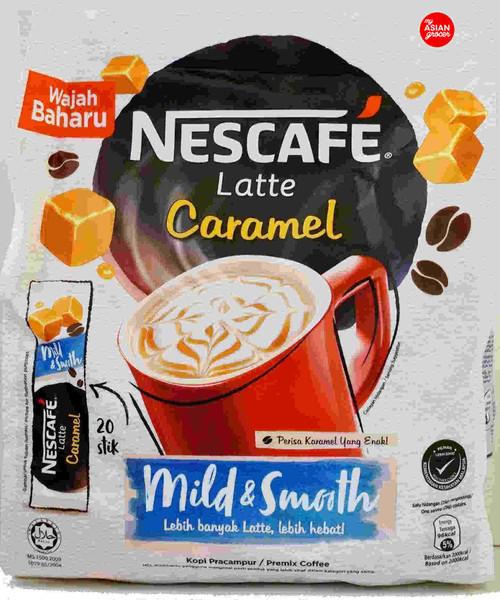 Nescafe Latte Caramel 25g x 20 Sticks