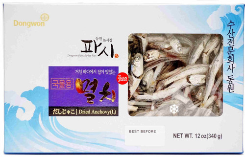 Dongwon Fish Market-Pasi Dried Anchovy (Large) 340g