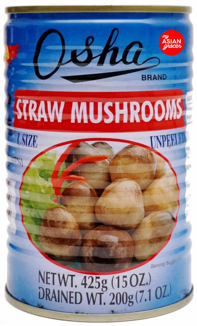 Osha Straw Mushrooms (Large) 425g