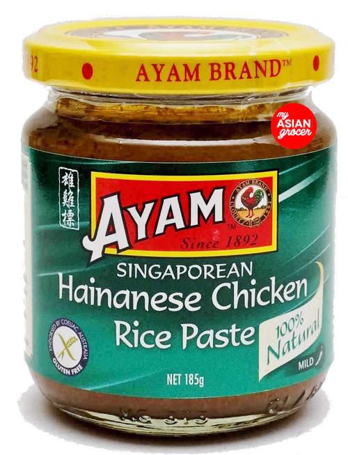 Ayam Singaporean Hainanese Chicken Rice Paste (Mild) 185g