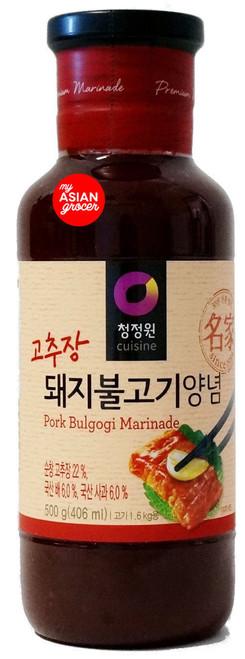 ChungJungOne Pork Bulgogi Marinade 500g