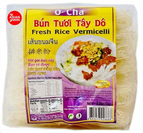 O-Cha Fresh Rice Vermicelli 1kg