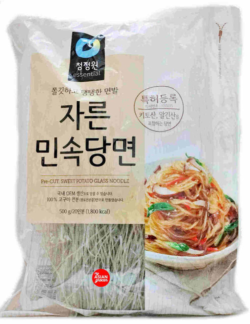 ChungJungOne Sweet Potato Glass Noodle Pre-Cut 500g