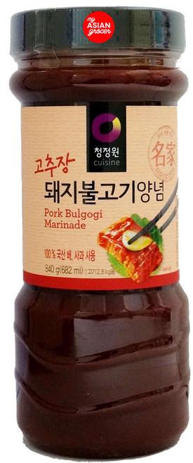 ChungJungOne Pork Bulgogi Marinade 840g