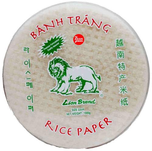 Lion Brand Rice Paper (Size 22cm) 1000g
