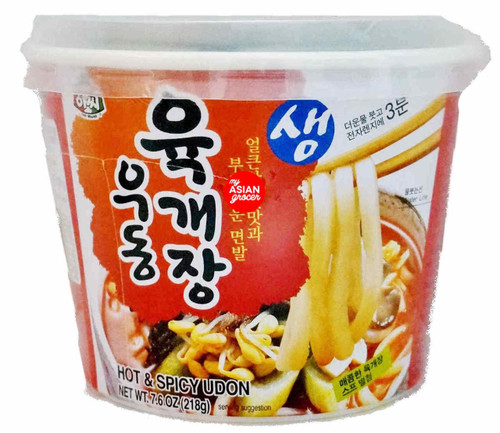 Assi Yukgaejang Udon Cup Hot & Spicy 218g