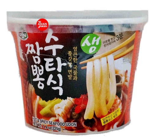 Assi Jjambbong Cup Hot & Spicy Seafood Udon 225g