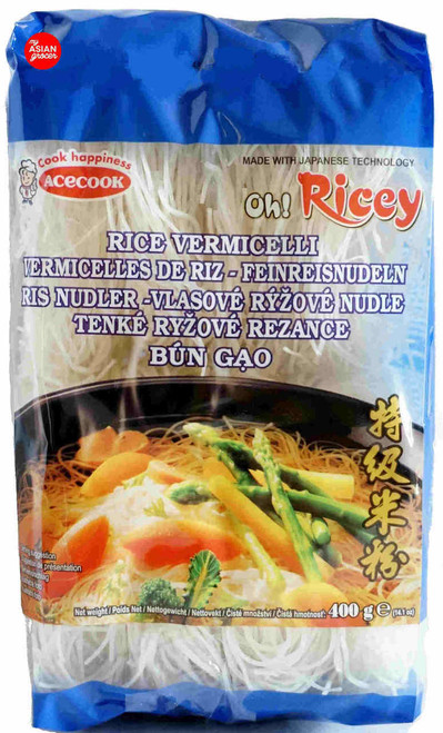 Acecook Oh! Ricey Dried Rice Vermicelli 400g