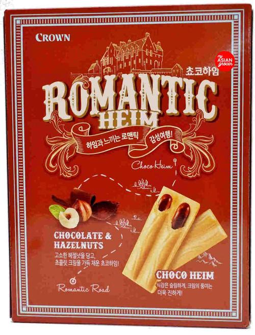 Crown Choco Heim Cream Wafers with Hazelnuts 284g