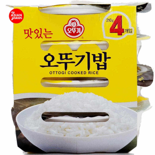 Ottogi Cooked Rice 210g x 4 Pack