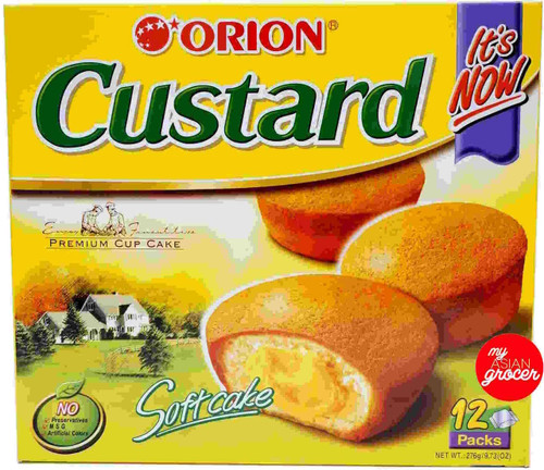Orion Custard Mini Cakes 276g