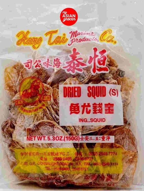 Hang Tai Co. Dried Squid (S) 150g
