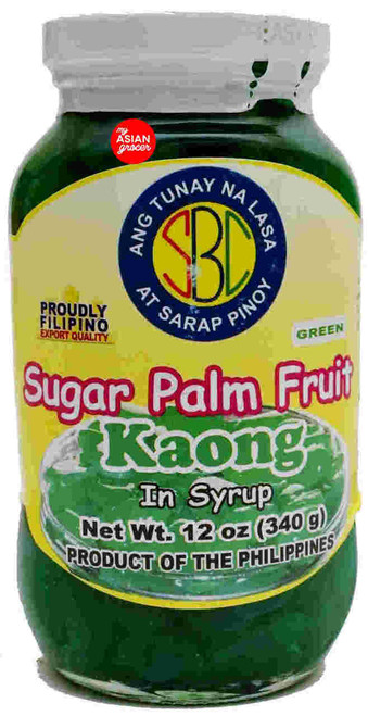 SBC Sugar Palm Fruit Kaong In Syrup(Green) 340g