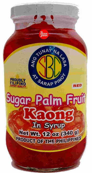 SBC Sugar Palm Fruit Kaong In Syrup (Red) 340g