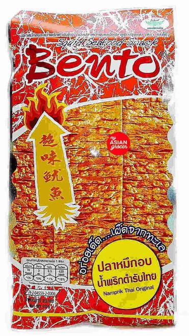 Bento Squid Seafood Snack Namprik Thai Original 20g