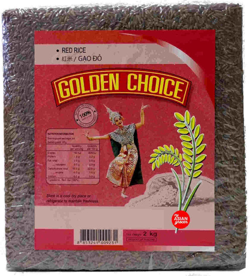 Golden Choice Red Rice 2kg