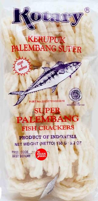 Rotary Super Palembang Fish Crackers 150g