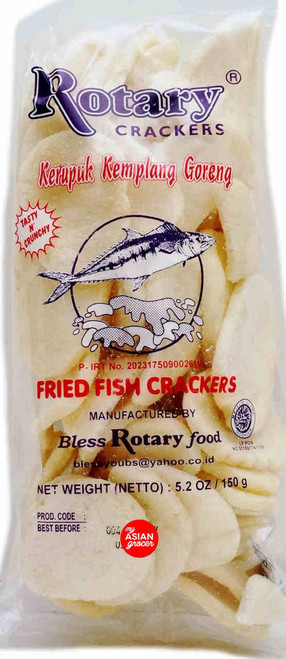 Rotary Crackers Fried Fish Crackers 150g