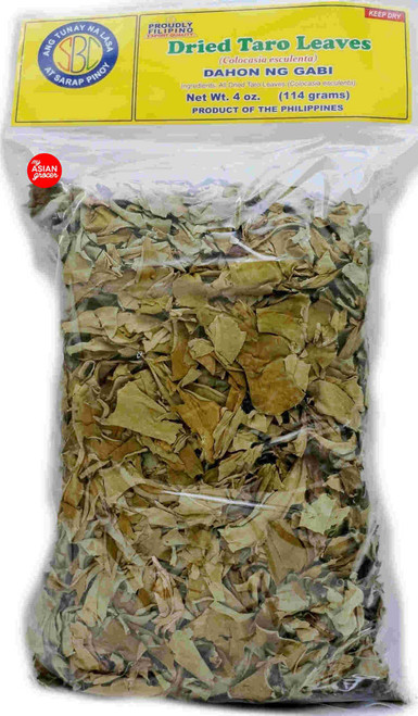 SBC Dried Taro Leaves 114g