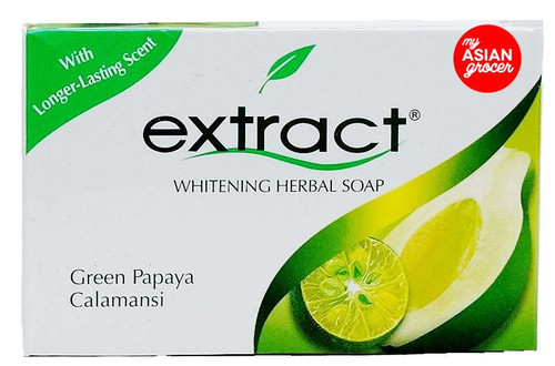 Extract Whitening Herbal Soap Green Papaya Calamansi 125g